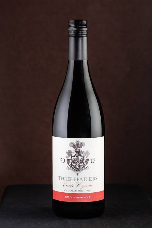 Three Feathers Cuvee Virginia Pinot Noir 2017 vintage