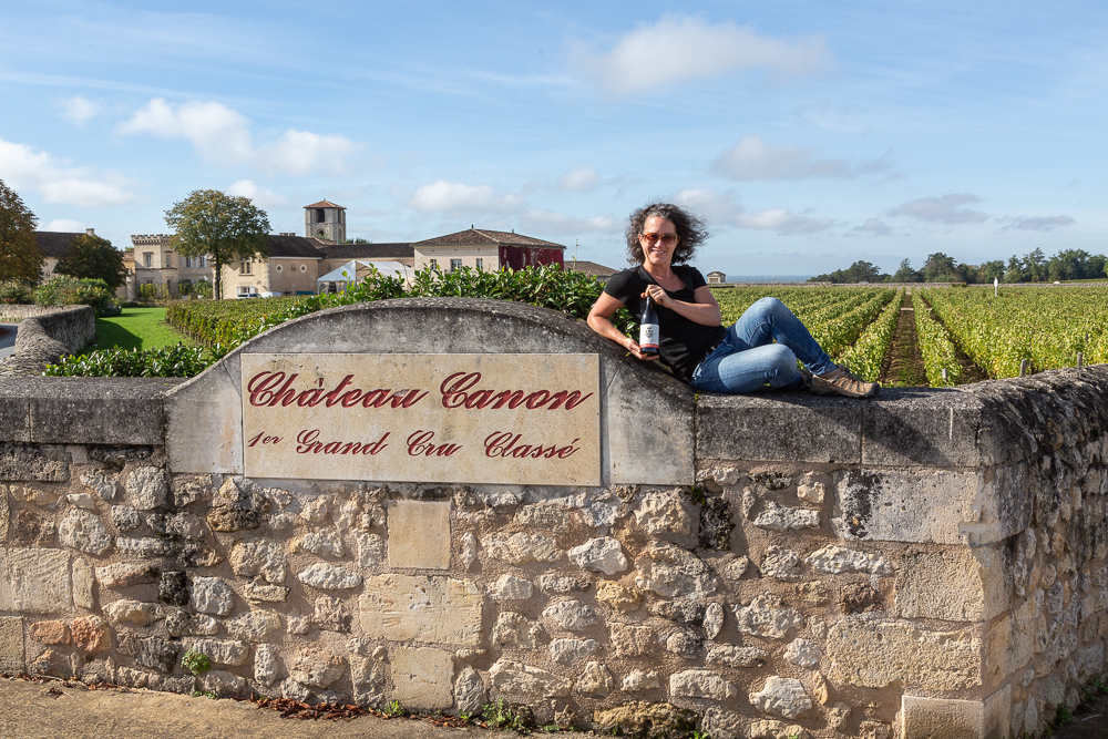 Three Feathers partner Elise Prudhomme visits Saint Emilion, France