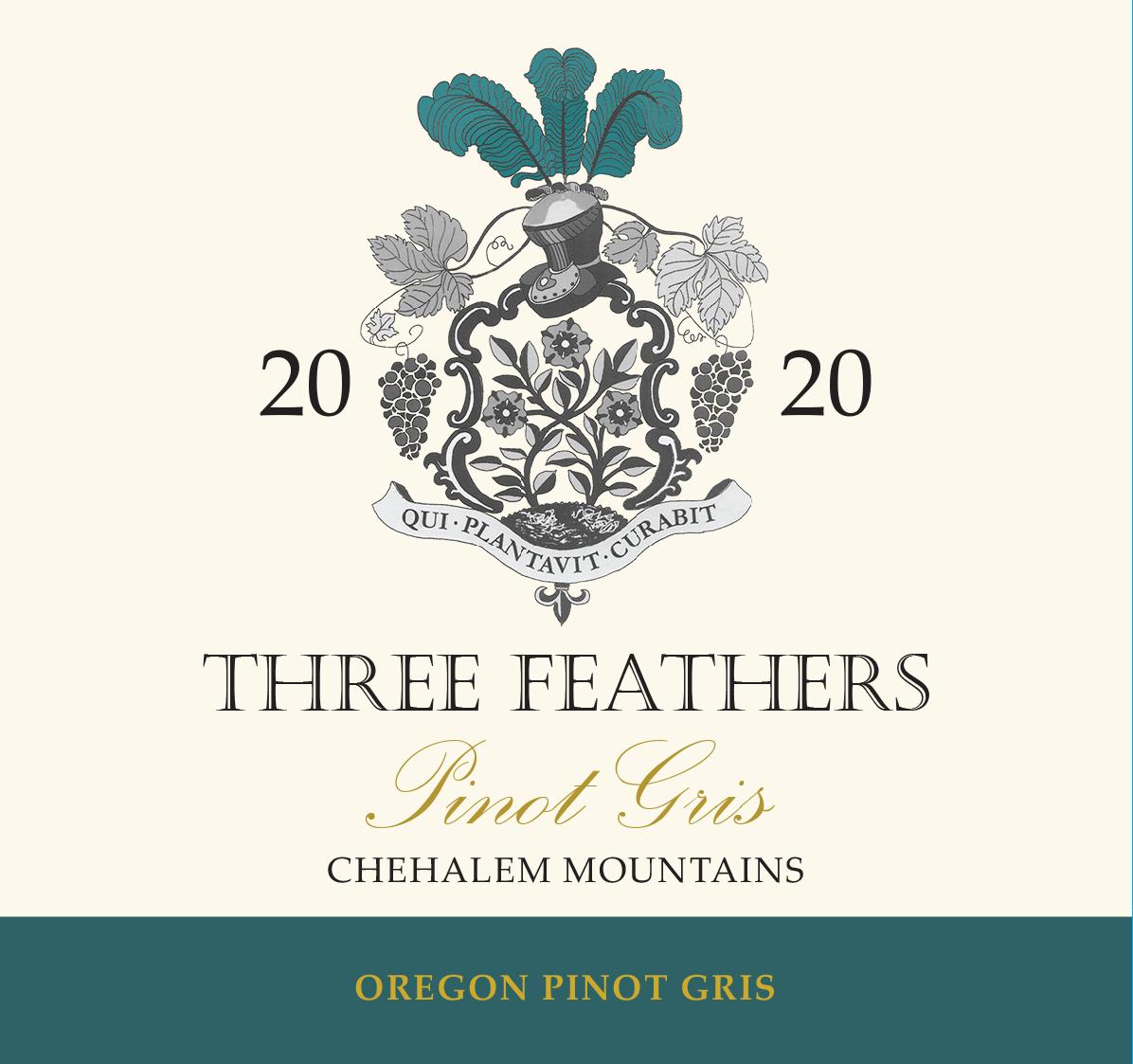 2020_Label_ThreeFeathers_pinotgris